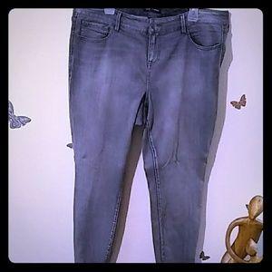 Torrid Rebel Wilson Skinny ankle zipper jean